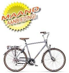 Een veilige, sportieve toerfiets die geschikt is voor zorgeloos lange fietstochten en dagelijks gebruik.